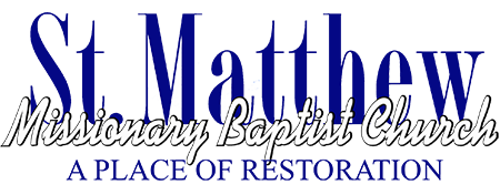 Welcome to St.Matthew BC   | Pastor Leroy Lacy, Jr.